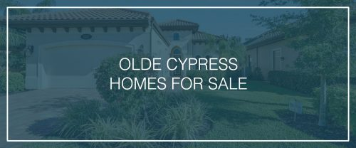 Olde Cypress-Homes For Sale